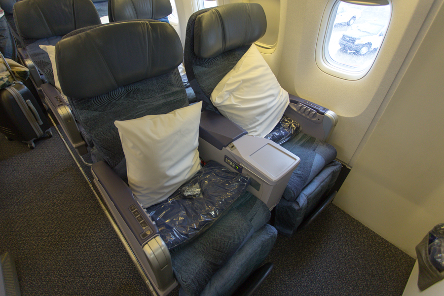 Air Canada Rouge 767 Seats 1A, 1C
