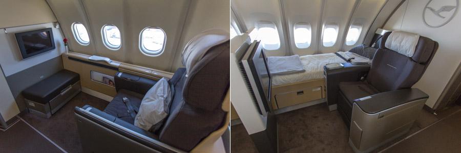 Lufthansa First Suite Comparison