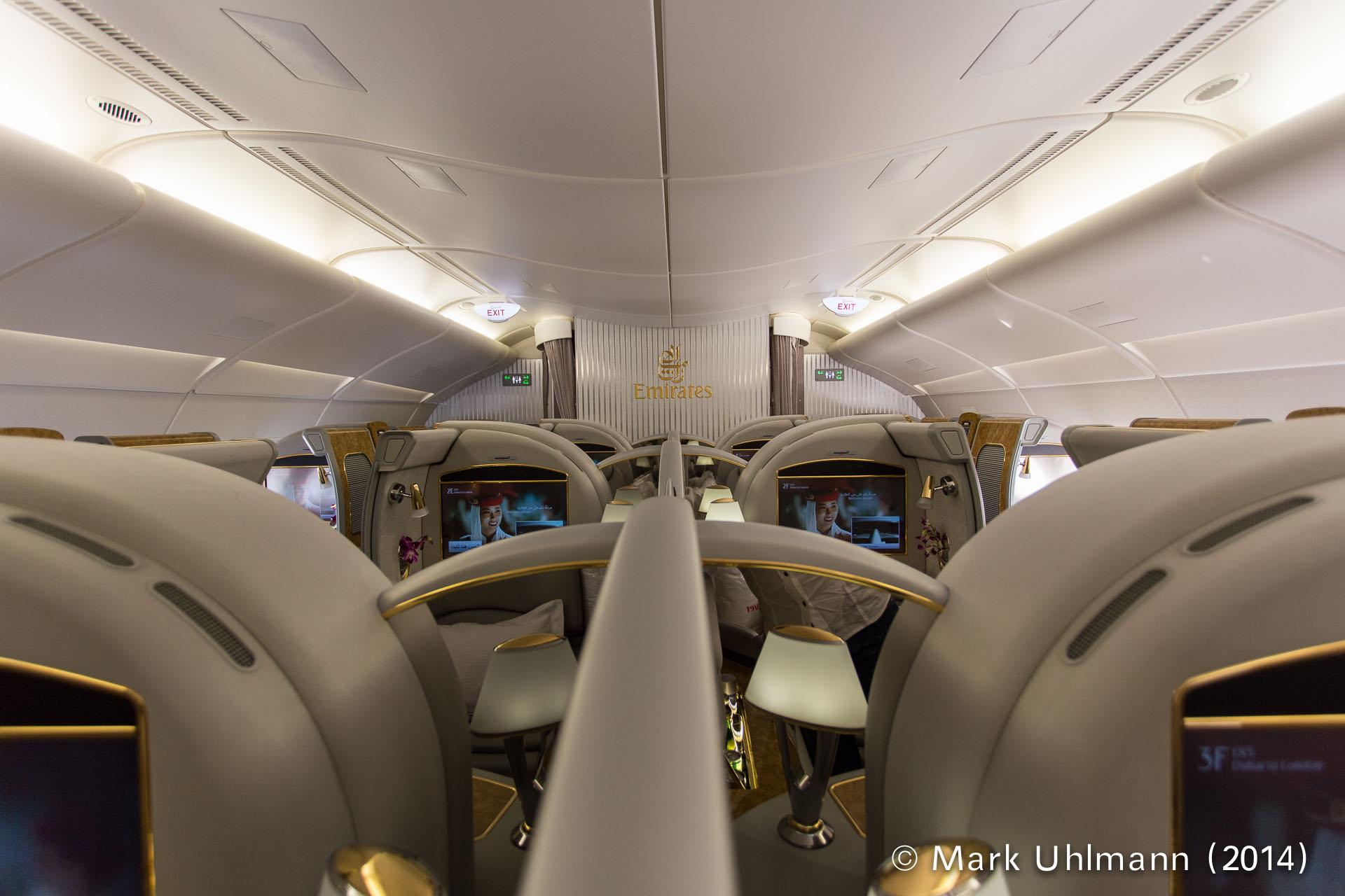 A380 First Class Cabin